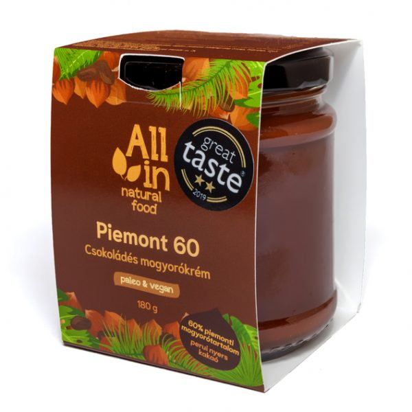 ALL IN natural food - csokoládés mogyorókrém